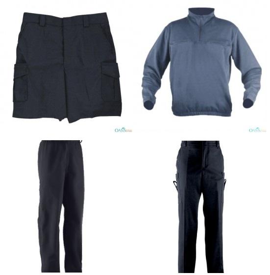 black-cargo-shorts