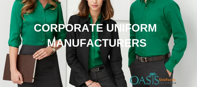 corporate clothing manufacturers