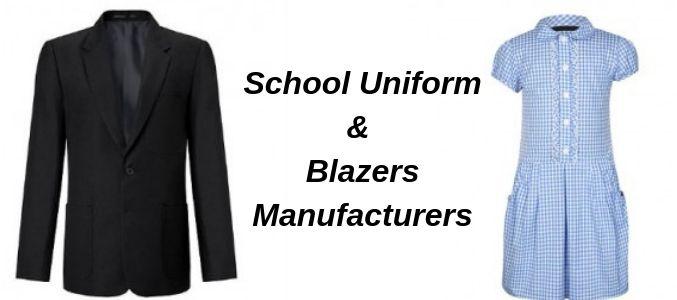 school blazers manufacturers