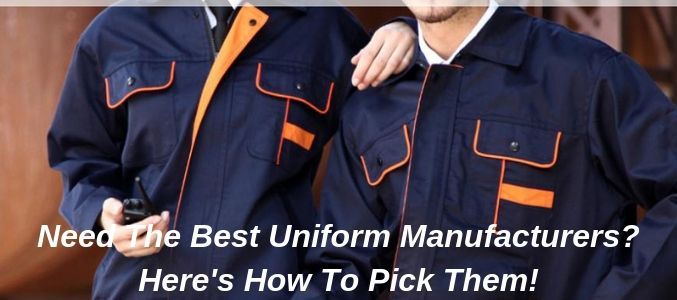 wholesale uniform manufacturers