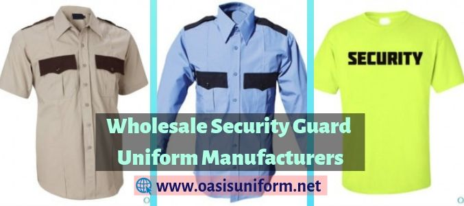 security guard dress manufacturer