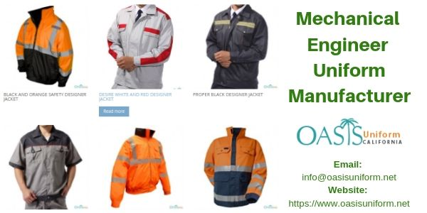 mechanical engineer uniform supplier