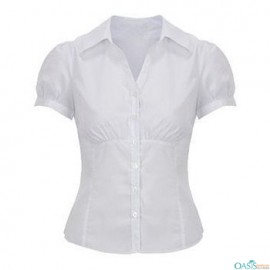 puffed sleeved formal shirts manufacturer